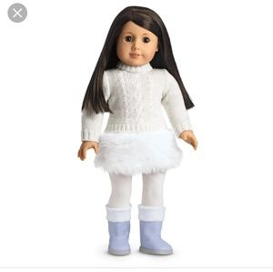 American girl snow outfit